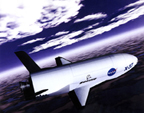 Концепт-арт космоплана Boeing X-37