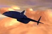 Концепт-арт гиперзвукового разведчика SR-91