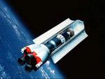 Shuttle-C на орбите (проект 1987 г.)