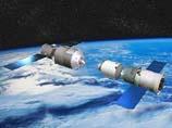 Модуль Tiangong 1 и космический аппарат класса Shenzhou