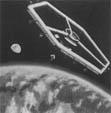 Один из ранних концептов орбитальной станции созданный учеными из Ленгли (1959 г.)