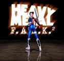 Heavy Metal FAKK 2 - так выглядела лицевая сторона обложки пиратской версии игры (август 2000 года)