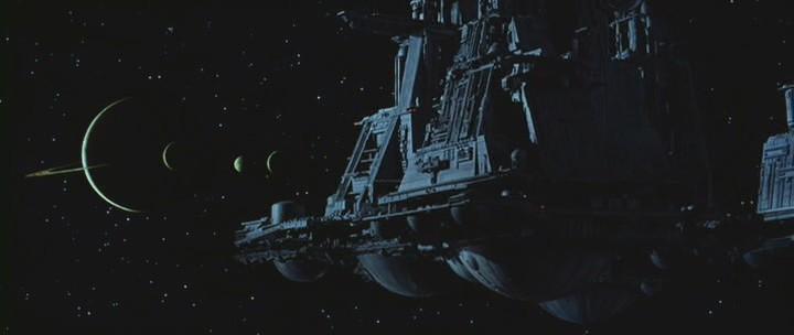 """Космический корабль: """"Alien"""" \ """"Nostromo""""."""
