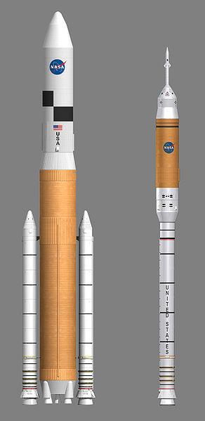 """Проект ракеты-носителя """"Ares V"""""""