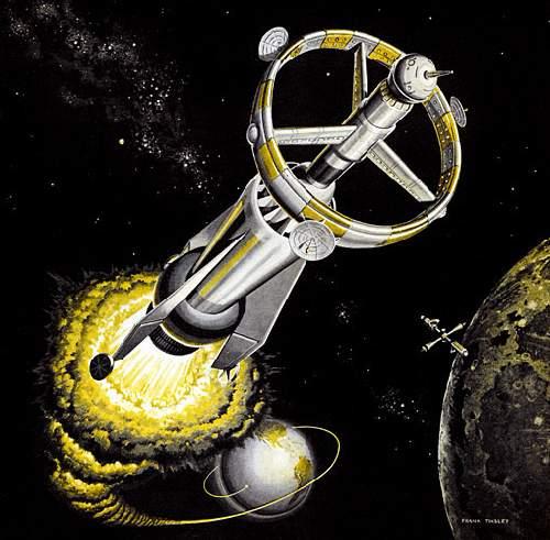 Ф. Тинсли «Атомная импульсная ракета» (1959)