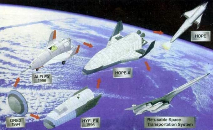 hope - космический проект Японии