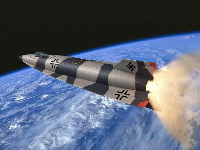 Немецкая космическая ракета А-9\А-10