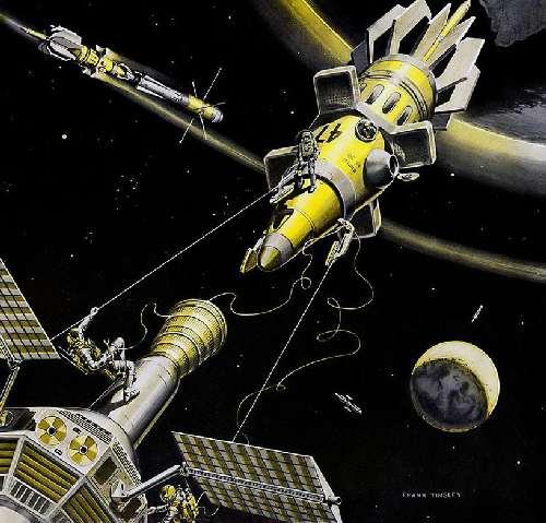 Ф. Тинсли «Уборка космического мусора» (1959)