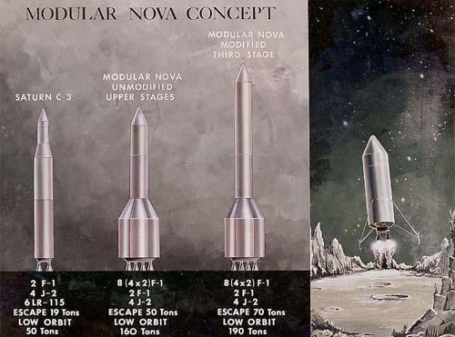 nasa_lunar Весь проект строился вокруг сверхмощной ракеты-носителя Saturn