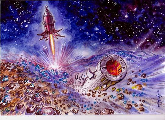 Redspace – рубрика посвященная нереализованным советским проектам освоения космического пространства.