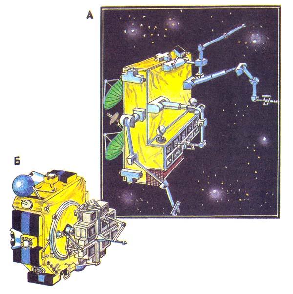 Такими представляют себе ученые будущие системы обслуживания космических объектов