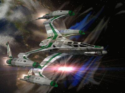 Babylon 5 – истребитель SA-26 Thunderbolt