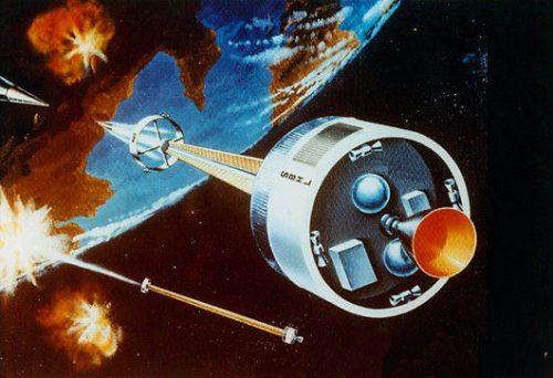 space-based_railgun - программа Directed-energy Weapon (DWE) – энергетическое оружие направленного действия