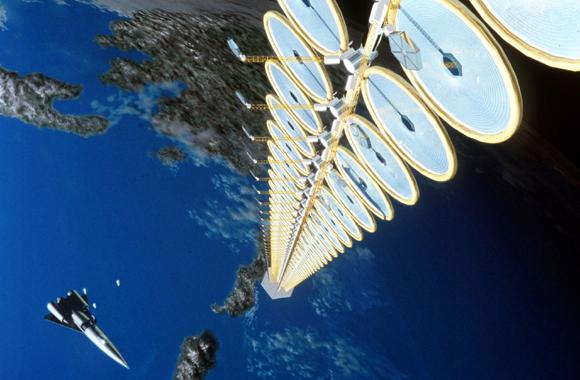передавать солнечную энергию прямо из космоса