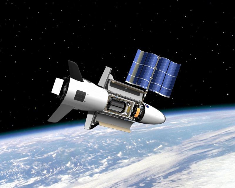 Первый космический полёт Х-37В