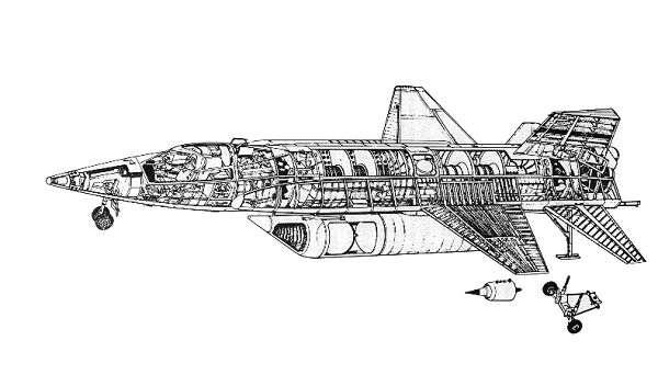 North-American X-15