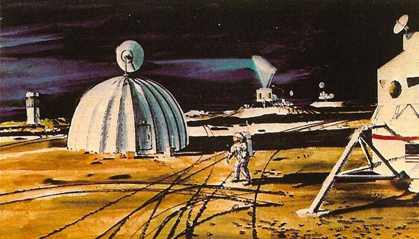 """Лунная база """"Moon Settlement"""""""