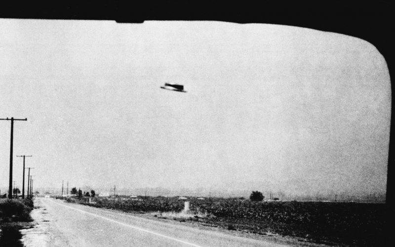 Первое наблюдение НЛО в близи