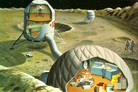 проект лунной базы