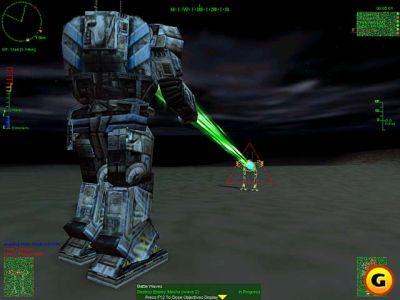 MechWarrior 3: Pirate`s Moon (Atlas наносит разящий удар из Gauss Riffle по несчастному Owen)