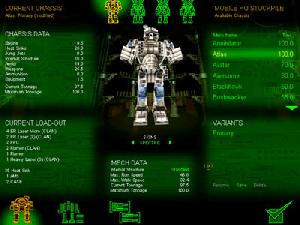 MechWarrior 3: Pirate`s Moon (MechLab)