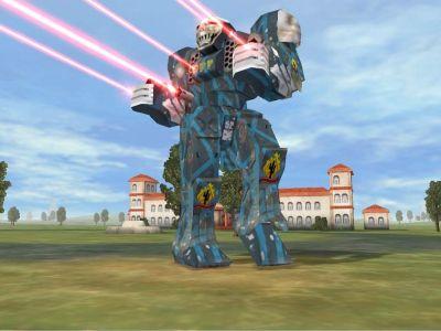 MechWarrior 4: Atlas в боевых условиях (красиво, но печально и тоскливо)