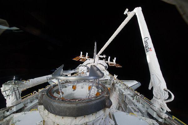 Работы на космической станции