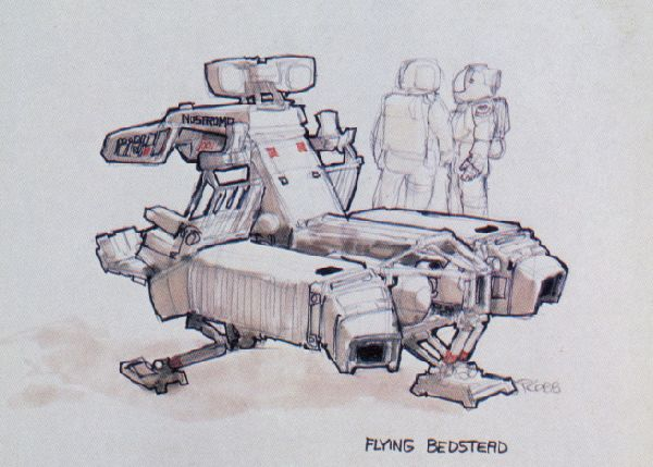 Двухместный летающий модуль