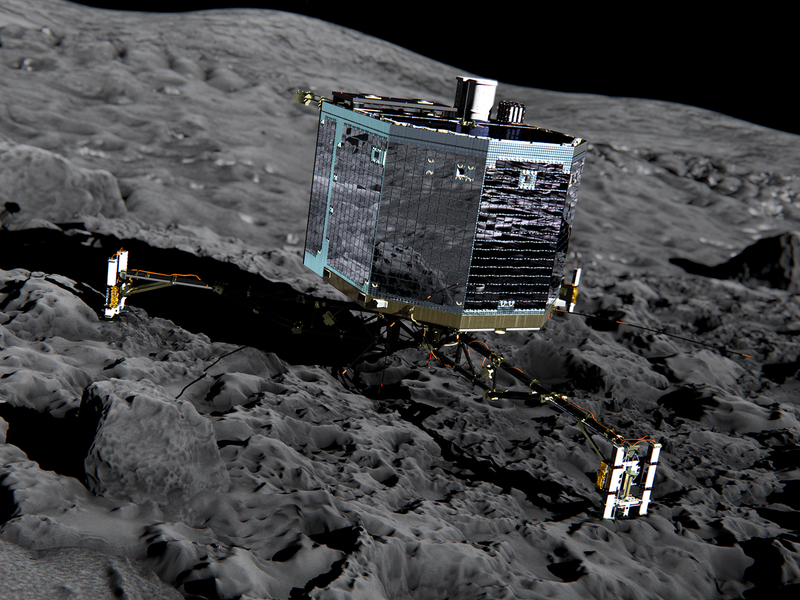 Космический аппарат на комете, астероиде