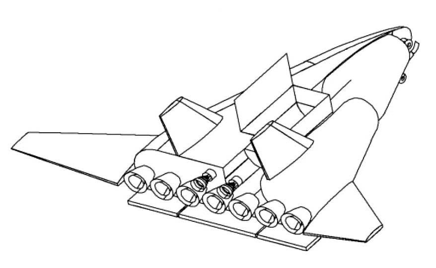 FSSC-5– проект широкофюзеляжного космического корабля