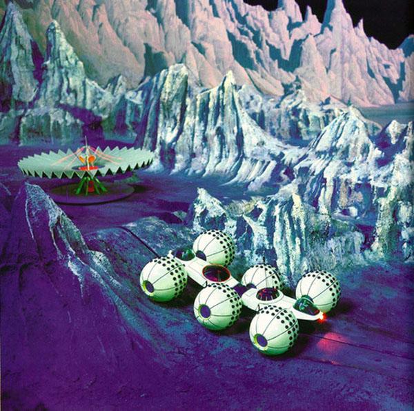 Концепт-арт лунной экспедиции