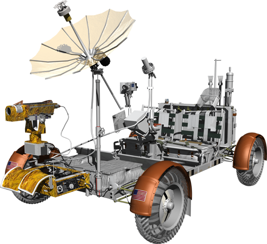 Apollo Lunar Rover.
