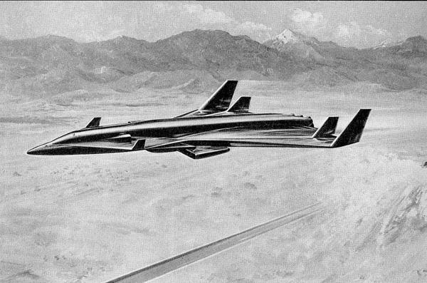 Многоразовая трехступенчатая система фирмы Lockheed.