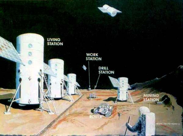 NASA Lunar Colony