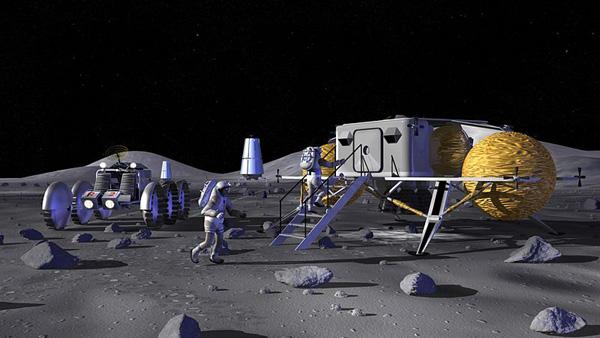Lunar Outpost– проект американской лунной базы