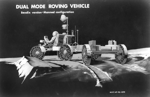 проект Bendix Dual Mode Rover