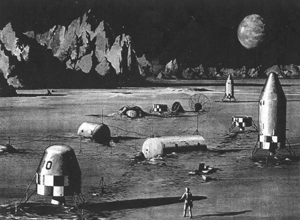 "Лунная база проекта ""Horizon""."