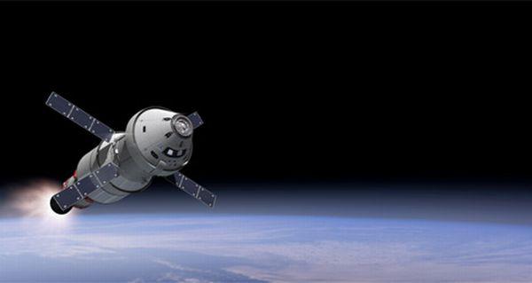 Космический корабль Orion.