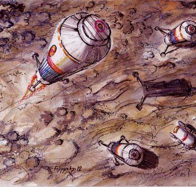 Redspace – лунная база «Звезда».