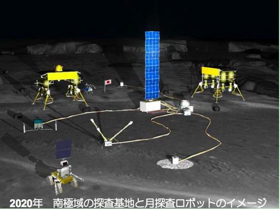 Роботизируемая лунная база – проект специалистов из Японии.
