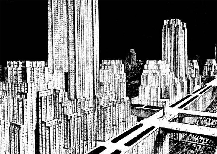 Город будущего от Francisco Mujica.
