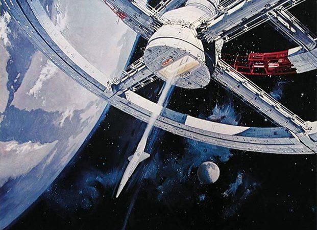 A Space Odyssey: небольшой фотоколлаж с космическими кораблями