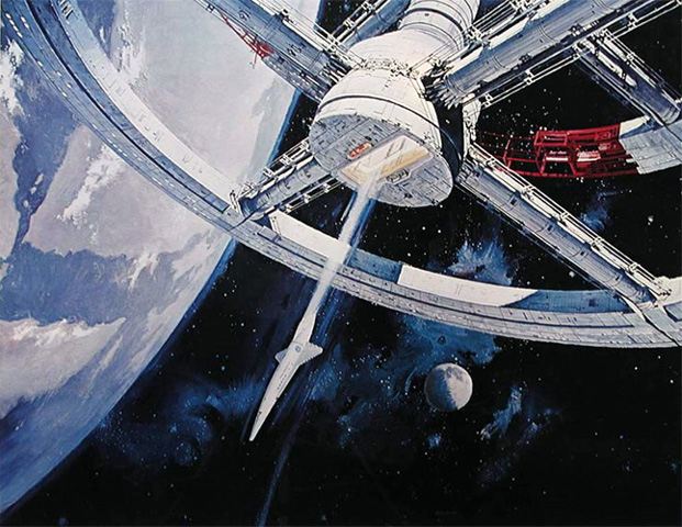 A Space Odyssey: фото с космическими кораблями.