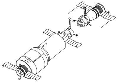 "Первая орбитальная станция типа ""Алмаз"""