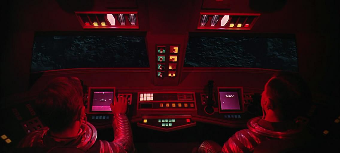 Moonbus. Кабина пилотов.