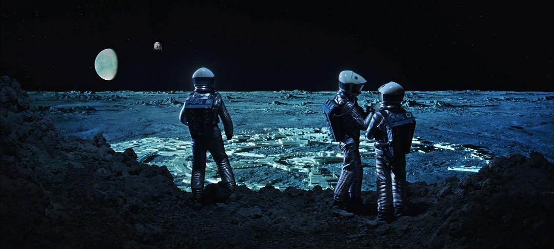 Наблюдение за посадкой Aries Ib с поверхности Луны.