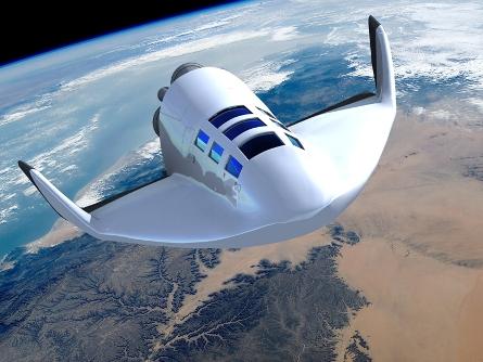 Космический корабль на орбите - VEHRA