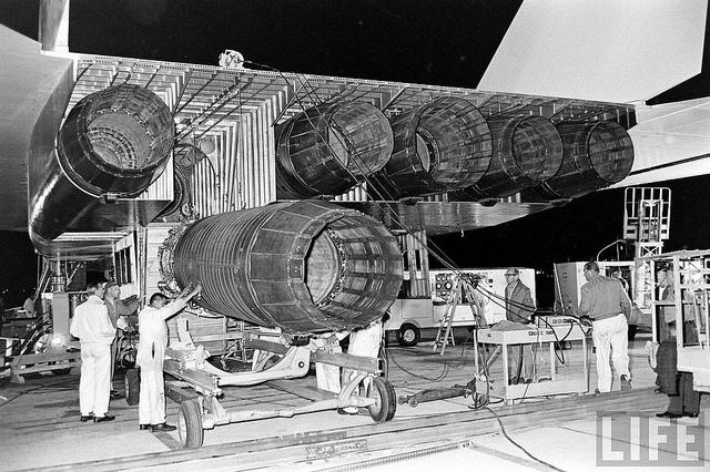 Турбины самолета