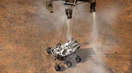 Десять любопытных фактов о марсоходе Curiosity.