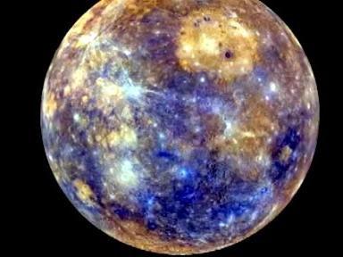 Есть первый глобус Меркурия в цвете!
